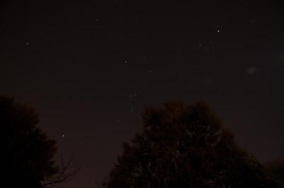 Orion-Aldebaran-Jupiter-Pleiades